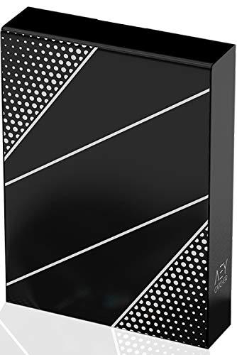 AEY Catcher® Kartendeck (Vibrant Edition) Premium Qualität - Spielkarten Poker - (Lange Haltbarkeit) Playing Cards - Zauberkarten - Pokerkarten - Cardistry (Innovatives Design)