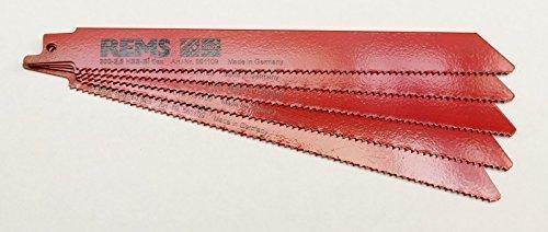 Rems 561109 - Hoja sierra hss-bi metal 200-2,5mm rojo 5u