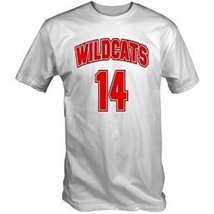 Wildcats 14 T Shirt (White S - XXL) (XX Large):Gamesbonusstar