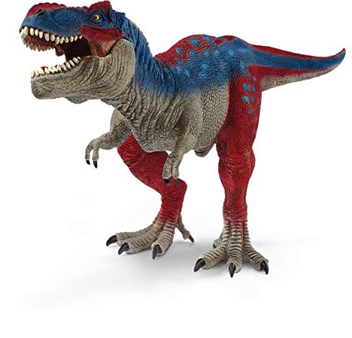 Schleich Dinosaurs, Dinosaur Toy, Dinosaur Toys for Boys and Girls 4-12 years old, Tyrannosaurus Rex, Blue