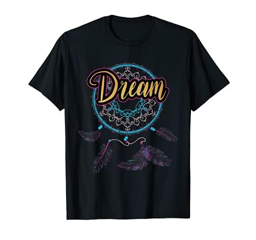 Atrapasueos Atrapasueos Native American Dream Boho Camiseta