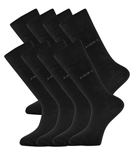JOOP! Herren Socken Strümpfe Business Allround 900000 8 Paar, Farbe:Schwarz;Sockengröße:43-46;Artikel:-2000 black