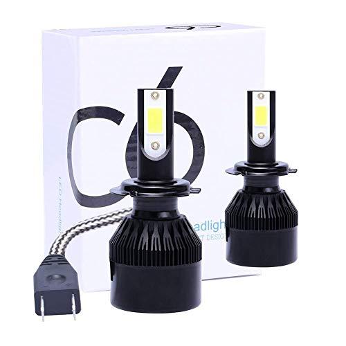 Goede prestaties H1 / H7 / H8 / H9 / H11 LED koplamp gemaakt van vliegtuigaluminium, 6500K 9V-32V 72W 16000LM, geïntegreerde ombouwset COB (2), H8 / H9 / H11 lange levensduur