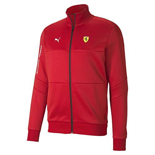 PUMA Men's SF T7 Track Jacket, Rosso Corsa, L
