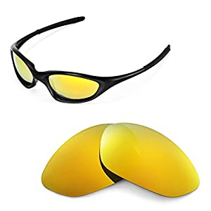 c66903566e5ee Walleva Replacement Lenses for Oakley XX Old Twenty (before 2011 version)  Sunglasses - 10 Options AvailableWalleva Replacement Lenses for Oakley X…  3.6 out ...