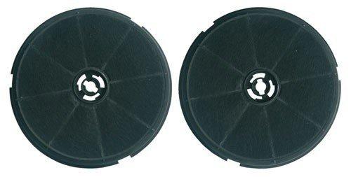 Candy actieve koolfilter (x2) diameter 194 mm, hoogte 38 mm voor afzuigkap Candy