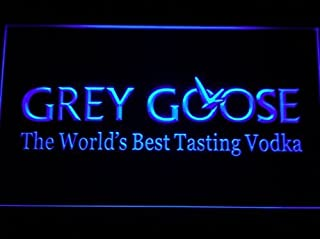 Grey Goose LED Zeichen Werbung Neonschild Blau
