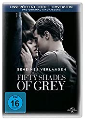 Fifty shades of grey auf DVD und Blue Ray