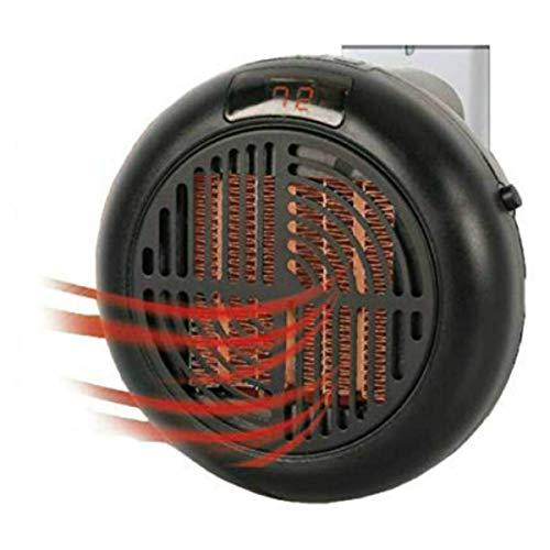 Mini calentador de aire de cerámica portátil de 900 W con calentamiento rápido y temperatura ajustable para el hogar, la oficina y el dormitorio