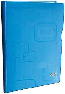Pasta Catálogo A4 PP Fine c/ 40 Plásticos Azul - Dello