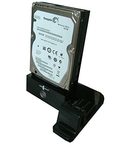Media Express Docking Station USB 2.0 per Hard Disk 2,5'' e/o 3,5'', Lettore SD/microSD Card