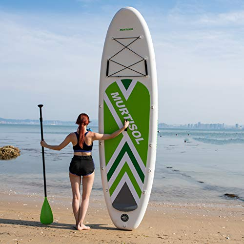 Product Image 7: Murtisol Inflatable Paddle Board Stand Up Paddle Green