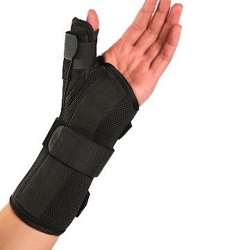 Therapist's Choice® Wrist Brace with Spica Thumb Support, Universal Size (Right)