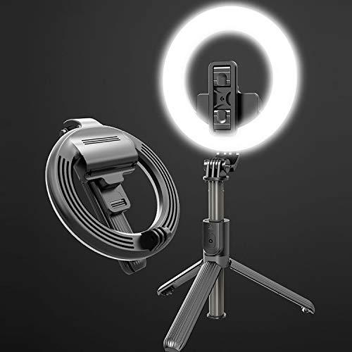 MDYH LTYD ADCC L07 LED LED de Relleno de 5 Pulgadas + Selfie Stick con Soporte