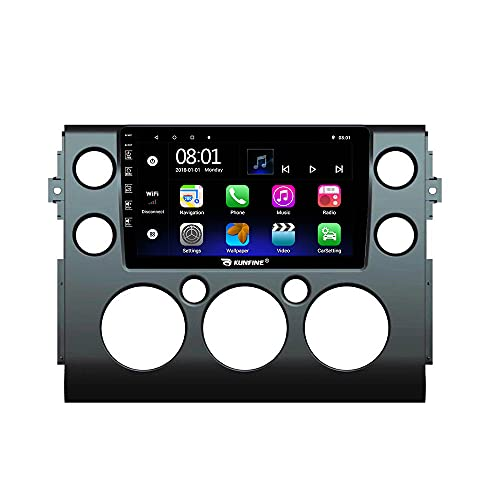 Android 10 Autoradio Car Navigation Stereo Multimedia Player GPS Radio 2.5D IPS Touch Screen for Toyota FJ Cruiser 2007-2013