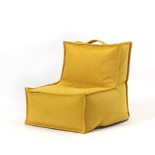 Barn lat böna väska soffa, singel hög rygg bekväm vattentät multifunktionell golv recliner, bekväm vikbar madrass sovrum vardagsrum balkong