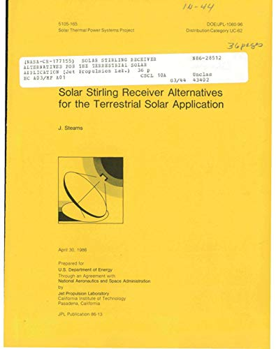 Solar Stirling receiver alternatives for the terrestrial solar application (English Edition)