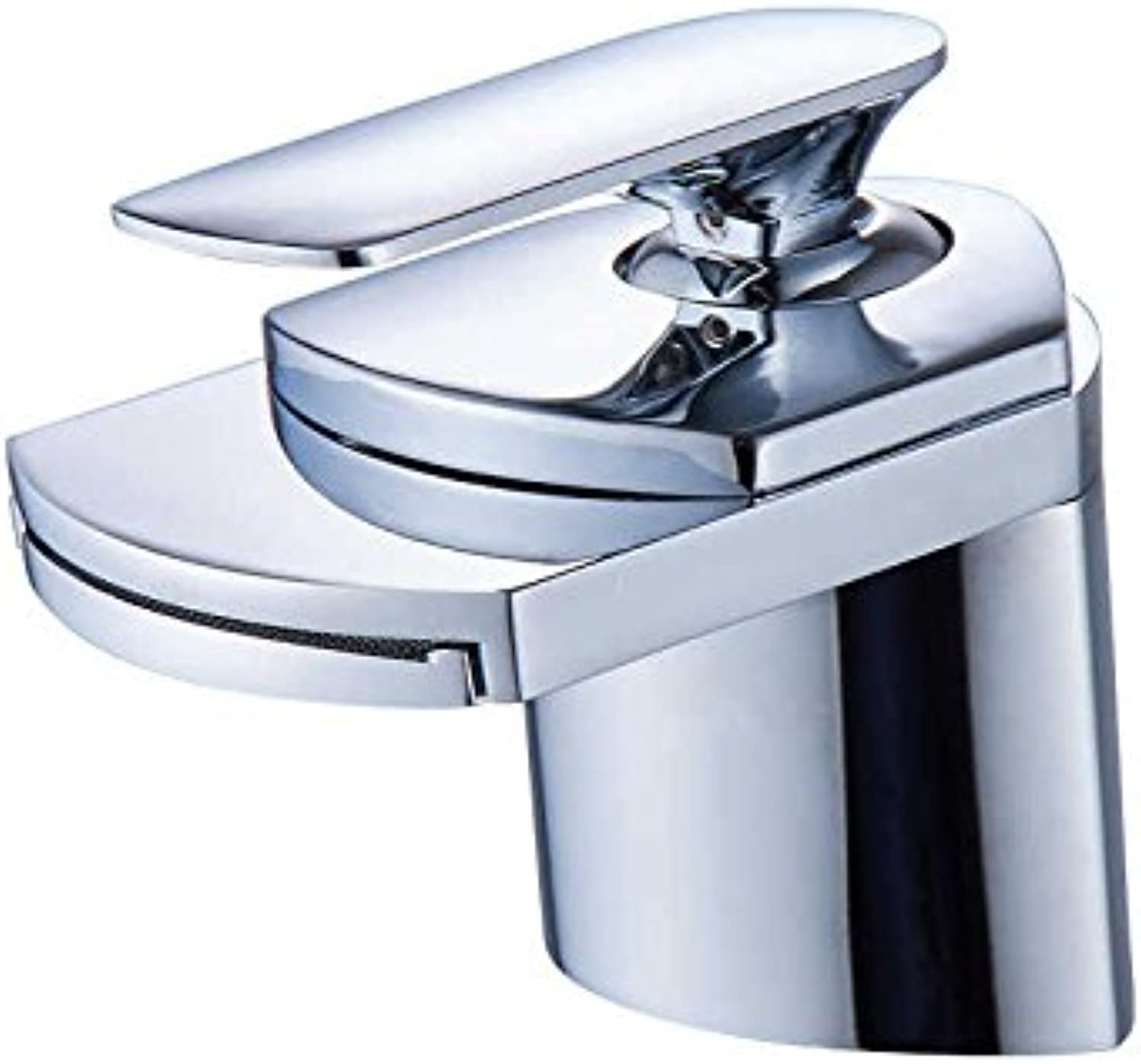 YAWEDA Faucet Single Hole Hand Washing Single Hole Single Cooling Antique Platform Basin Basin Kitchen Faucet Bathroom Black Bathroom Cabinet Water Valve Cold Water Faucet Plating Short