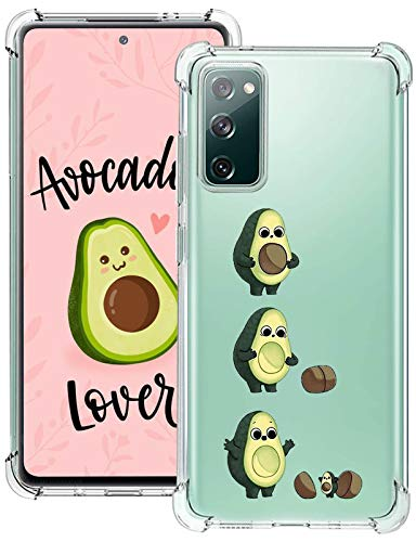 biteri S20 Fe Case Clear Compatible for Samsung Galaxy S20 Fe 5G Case Protective Animal Case Cover Cute for Girls Women for Samsung S20 Fe Case Slim Soft Flexible TPU Shockproof Bumper