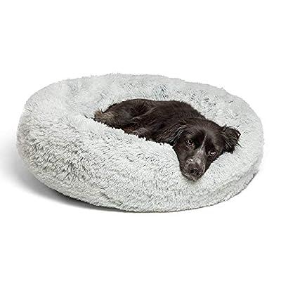 Best Friends by Sheri Luxury Shag Faux Fur Donut Cuddler (Multiple Sizes) – Donut Cat & Dog Bed
