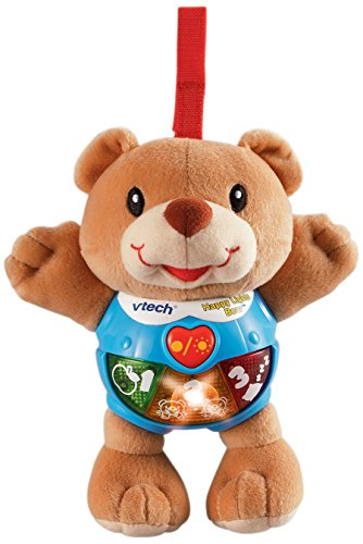 VTech Happy Lights Bear, Brown (Toys That Light Up And Play Music)