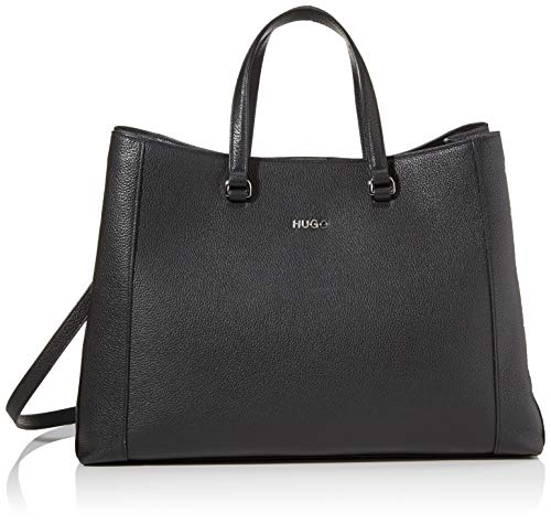 HUGO Victoria Workbag-P, Bandolera para Mujer, Negro1, Normal