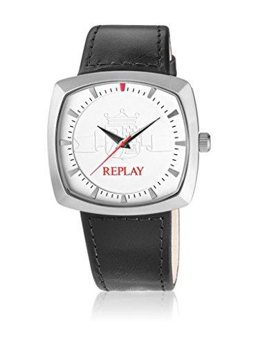 Replay rx5401ah1–Orologio da uomo, cinturino in pelle colore nero