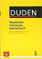 Duden deutsches Universalworterbuch: Duden Deutsches Universalworterbuch 8th