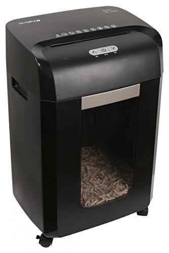 Olympia CC 518.4 - Triturador de papel (Cross shredding, 22 cm, 4 x 35 mm, 23 L, 65 dB, Botones)