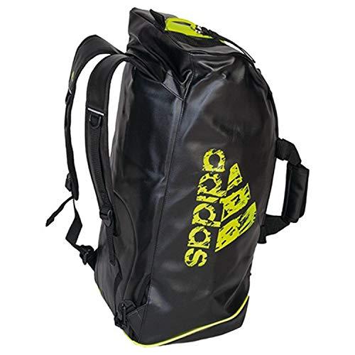 adidas Adiacc051C - Bolsa de deporte para hombre, color negro/amarillo, tamaño Talla...