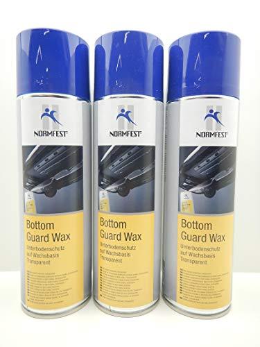 Normfest UNTERBODENSCHUTZ WACHS Bottom Guard Wax ROSTSCHUTZ Spray 500ML (3)
