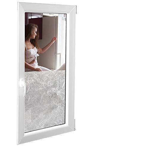 Zonnescherm 6,57 €/m2 raamfolie, set zelfklevende melkglasfolie, klassiek 152 cm breed, folie raamfolie