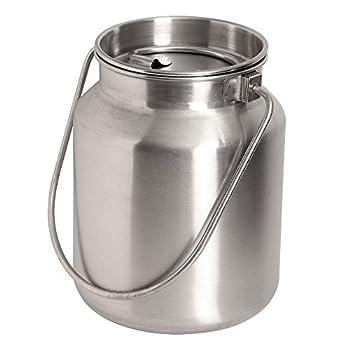 Best stainless steel milk bucket Reviews