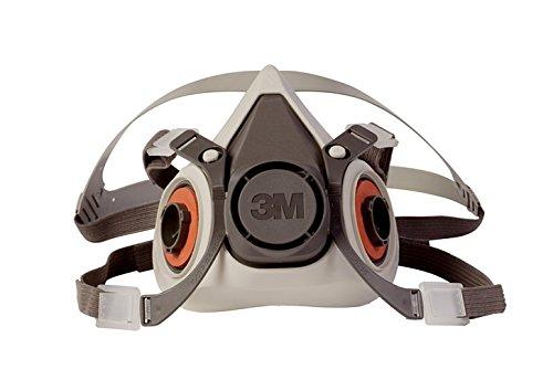 3M 6200 Half Facepiece Resusable Respirator, Medium
