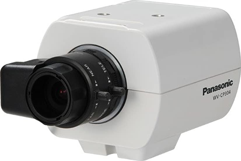 Panasonic WVCP304 Day/Night Fixed Color Camera for Surveillance Systems