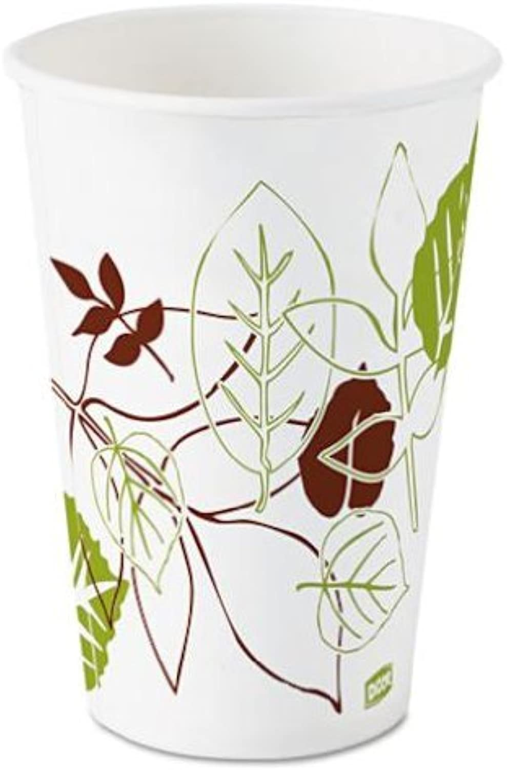 Pathways Polycoated Paper Cold Cups, 12 oz, 1200 Carton
