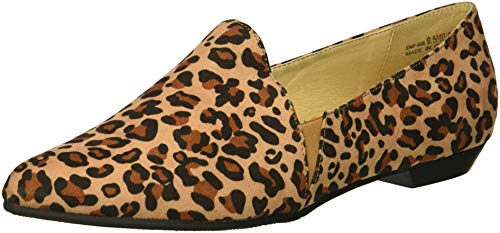 CL by Chinese Laundry Women's Emmie Loafer Flat, Natural Leopard, 7.5 M US
