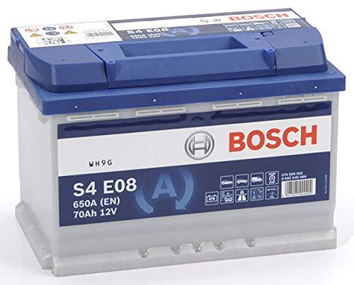 Bosch S4E08 Batería de automóvil 70A/h-760A