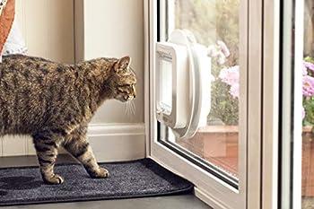Sureflap chatière à Puce Électronique pour chat, Blanc