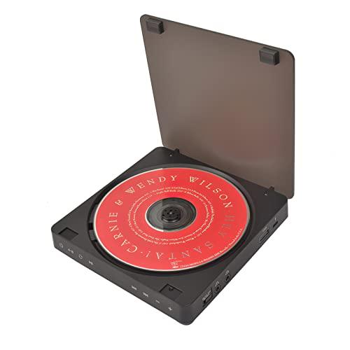 Lettore CD portatile, lettore di dischi di intrattenimento video portatile portatile lettore CD Walkman con doppio apprendimento Walkman Album Player per