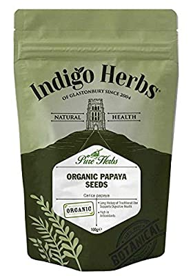 Indigo Herbs Organic Papaya Seeds 100g