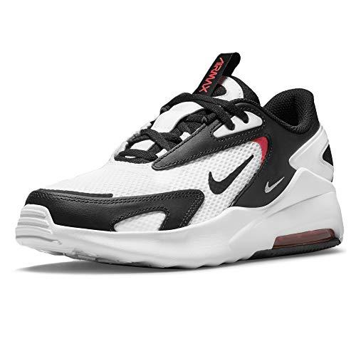 Nike Air MAX Bolt BG, Zapatillas Deportivas, Blanco Black BRT Crimson, 36.5 EU