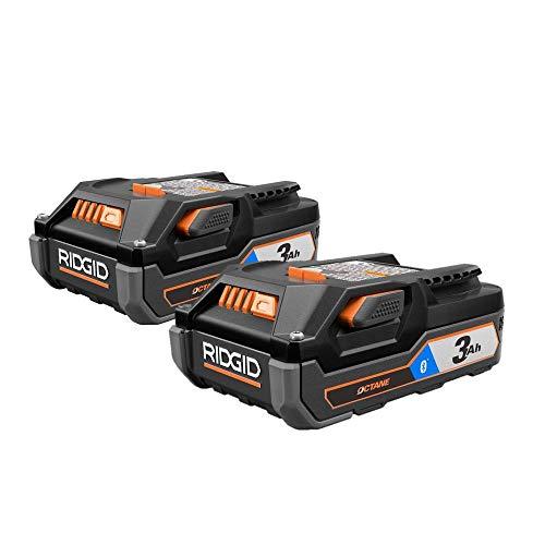 Ridgid Octane Bluetooth 3Ah 18v Battery (2-Pack