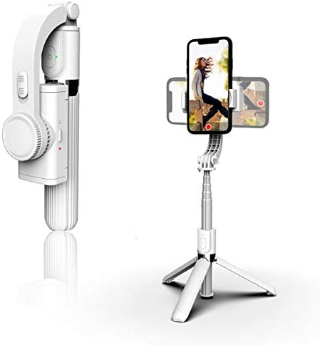OUTAD Foldable Handheld Phone Gimbal Stabilizer with Extendable Bluetooth Selfie Stick and Tripod product image