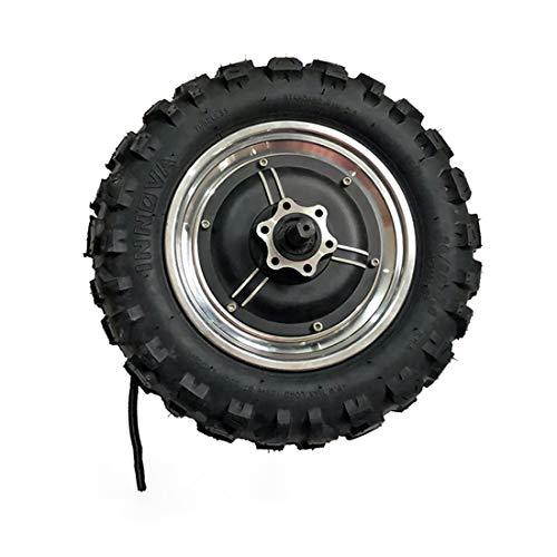 GZFTM Motor de buje de alta velocidad de 11 pulgadas, 48 V1000 W1500 W, motor eléctrico Buggy sin engranaje, motor TX de 60 km/h, juego eléctrico de neumáticos grasos (motor de 48 V 1000 W)