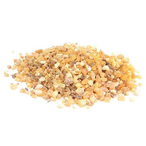 aqasha Premium Weihrauch zum Räuchern/Verbrennen, naturreines Harz, grob gemahlen (muss zum Räuchern ggf. gemörsert Werden) (Boswellia frereana 50g)