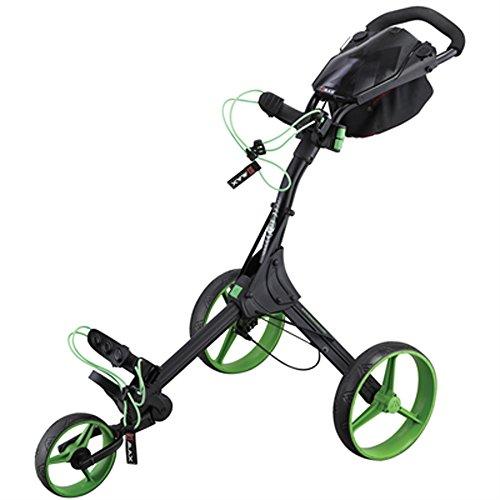 Big Max Golftrolley / Caddywagen Big Max IQ+ black-lime schwarz/grün (702) 000