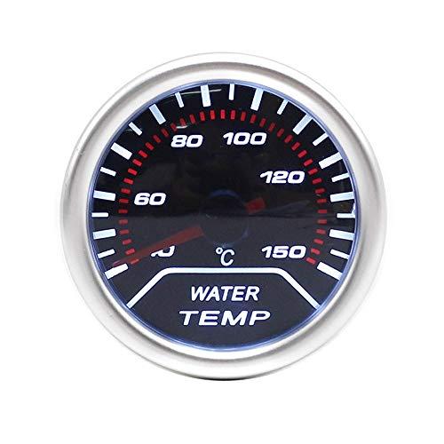 LIXUDECO Indicador de tacómetro 2 Hermoso especificación de 52 mm Aceite Combustible Libras de Barras de Columna de Agua a presión de Temperatura de Gas de Escape de automóvil de Aire Prensa hidráuli