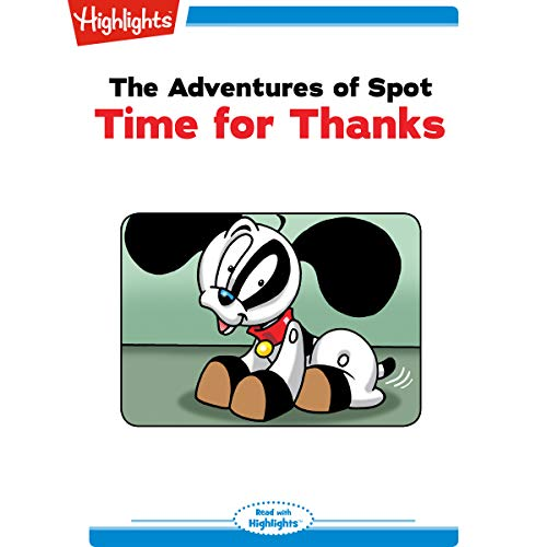 The Adventures of Spot: Time for Thanks copertina