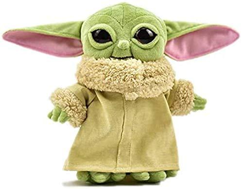 PEDEIECL Die Mandalorianische Baby Yoda Gefüllte Puppe 20 cm für Fans Kinder (New Yoda)